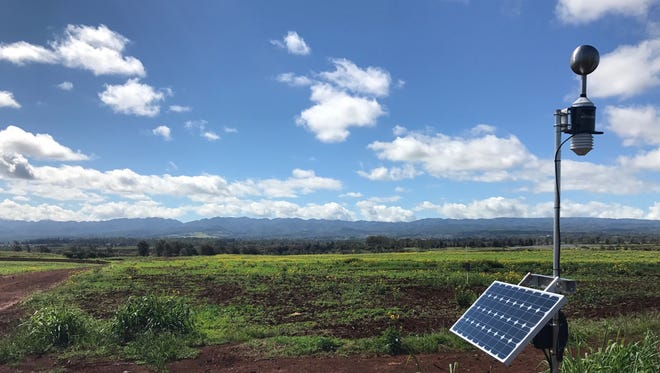 Understory's solar-powered sensors provide measurements that help growers make decisions about how to irrigate fields and seasonal decisions about planting and harvesting.