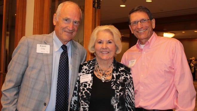 Clay Klein, Roberta Klein and Claus Mager