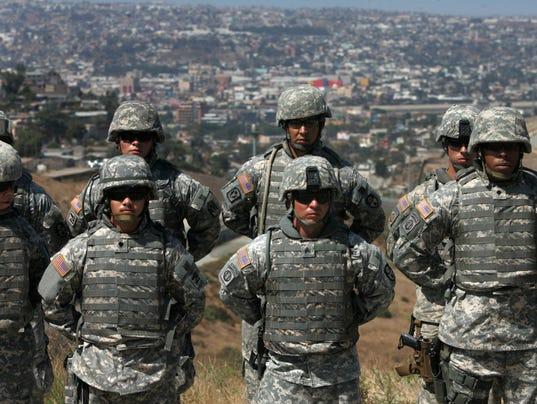AP BORDER SECURITY A USA CA