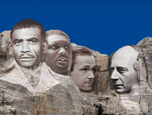 Nashville sports Mount Rushmore