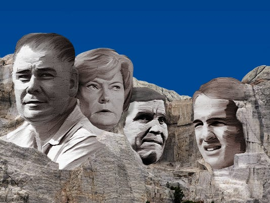 Knoxville sports Mount Rushmore