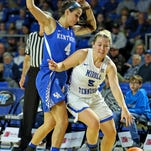 MTSU women's basketball stages 62-57 comeback win over Kentucky