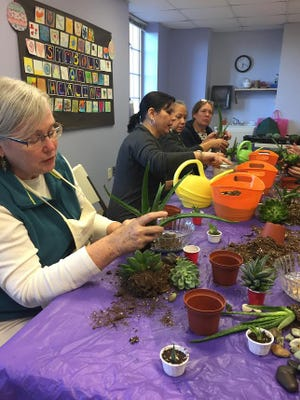 Horticultural Therapy with Laura DePrado, Registered Horticultural Therapist of Final Touch Plantscaping LLC, was launched earlier this year.