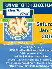 Health First Fight Child Hunger 5K run/walk