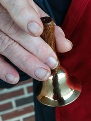 James White of Anderson rings a bell for the Salvation