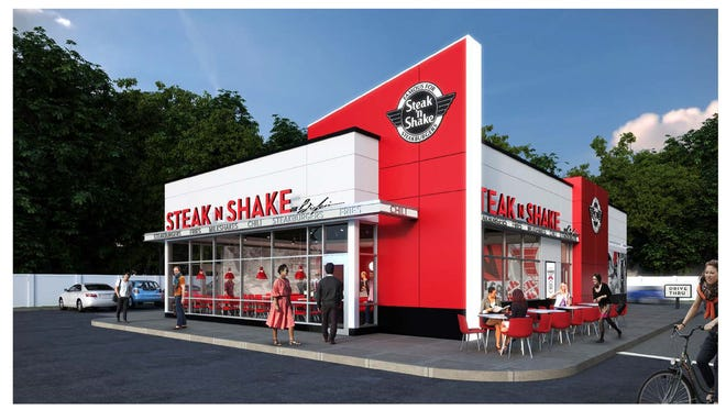 Here's a look at what the new Steak 'n Shake on the East Side will look like.