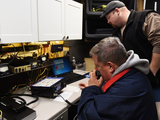 The Fair Lawn Amateur Radio Club holds it winter field