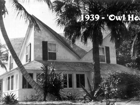 The Platt-Porter house on Colorado Avenue in 1939.