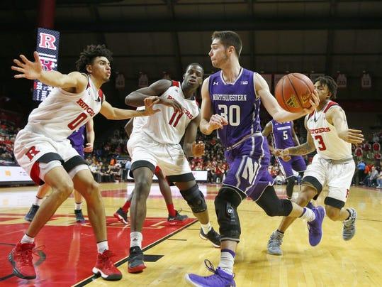 NCAA Basketball: Northwestern at Rutgers