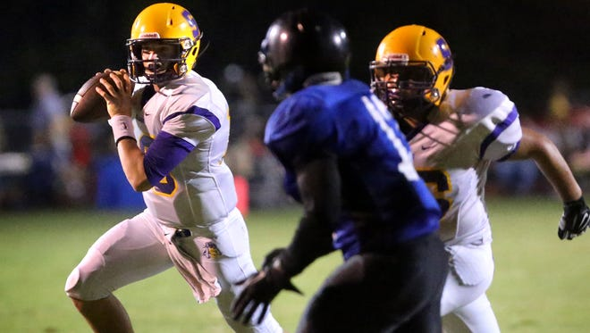Smyrna quarterback John Turner is one of three college football commitments that will be on the field when the Bulldogs host La Vergne on Aug. 19.