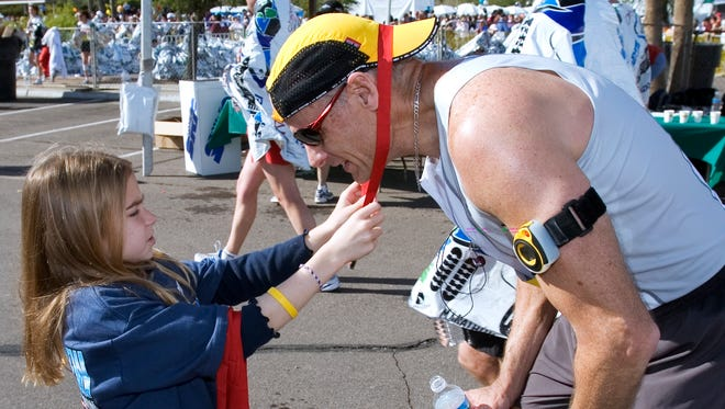 Receiving a finisher's medal after a marathon or half-marathon is a point of pride for many runners, but racers in Sunday's P.F. Chang's event may have to have theirs mailed to them later.