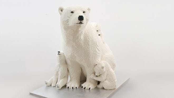 Polar bears, giant bugs, flowers and more LEGO sculptures come to Phoenix Zoo starting Sept. 17.
