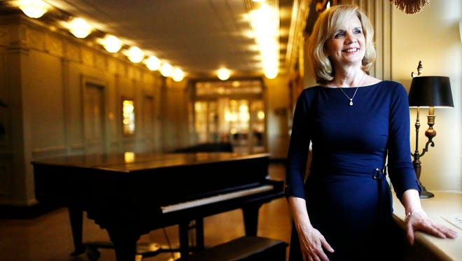 Pianist Sue Ann Stone has been performing at The Brown Hotel Lobby Bar for decades.