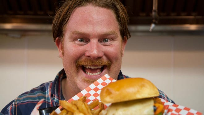 Casey Webb host of Man V. Food on The Travel Channel heads to Louisville December 11 for Season Two of the popular food challenge show.