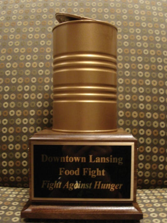 Downtown Lansing Food Fight Trophy