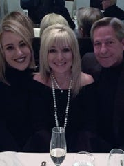 Thanksgiving in Chicago – Thanksgiving is all about family and Brenda and Paul Wallace spent quality time with daughter Kaitlin Rinehart in Chicago. The trio is pictured at Pelago Ristorante enjoying some bubbly.