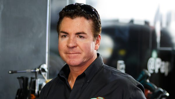Papa John's founder and CEO John Schnatter is...
