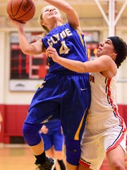Clyde's Heidi Marshall was recognized honorable mention all-Ohio.