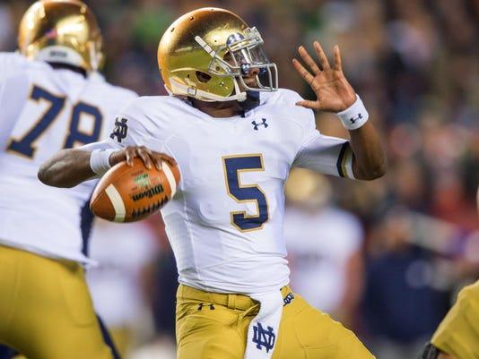NCAA Football: Notre Dame at Navy