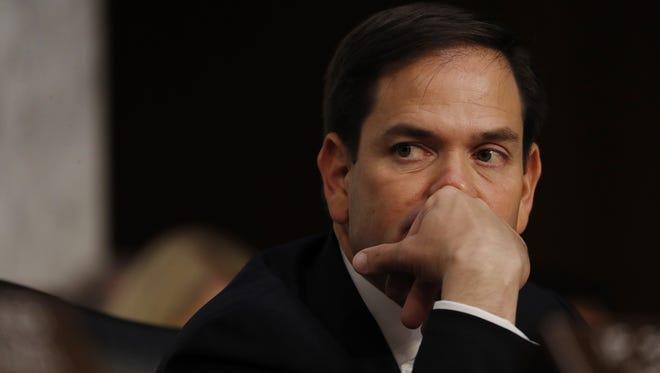 Republican Senator Marco Rubio of Florida.