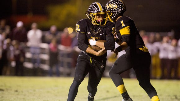 Murphy is part of this week's state football polls from NCPreps.com.