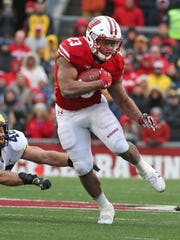 Wisconsin Badgers running back Jonathan Taylor.