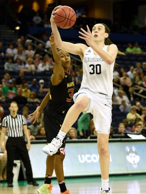 Three-time Final Four Most Outstanding Player Breanna Stewart is back to lead Connecticut.