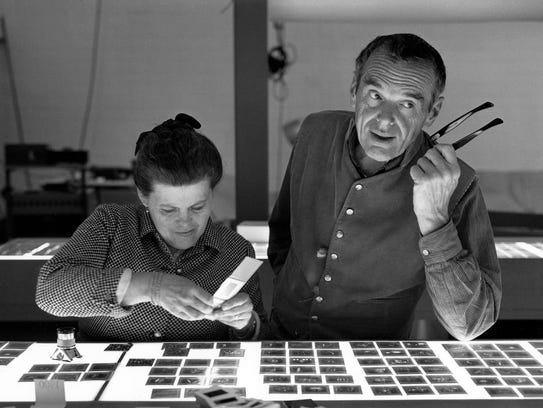 """From the exhibit """"The World of Charles and Ray Eames,"""""""