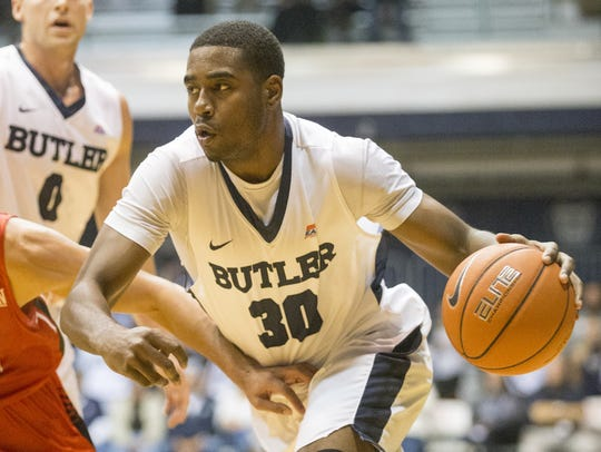 Kelan Martin is Butler's leading returning scorer.