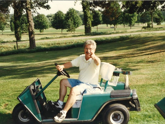 George Vello Nickolaou at Oakland Hills Golf Course