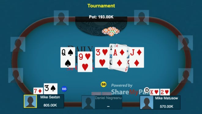 After winning this hand, Sexton carried his momentum and went on to capture the 2006 WSOP Tournament of Champions.