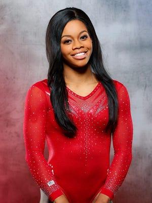 Team USA gymnastics athlete Gabby Douglas poses for a portrait during the 2016 Team USA Media Summit.