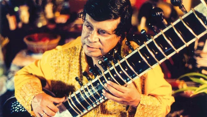 Aloke Dasgupta will play sitar in the World Music Show Highlighting India concert Sunday in Simi Valley. The event will include vegetarian dinner.