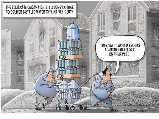 Michigan's abysmal response to the Flint crisis
