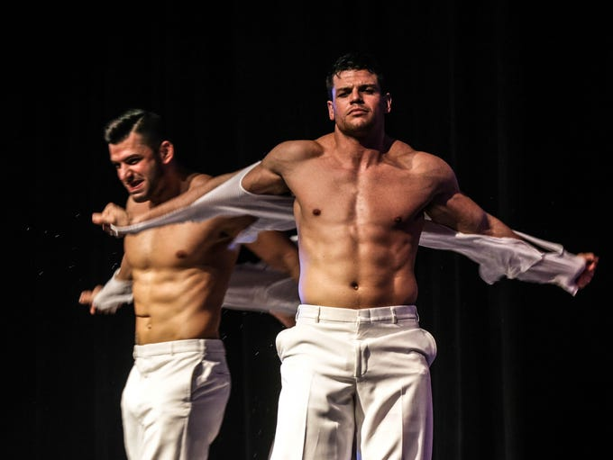 The Chippendales danced their pants off at the Old