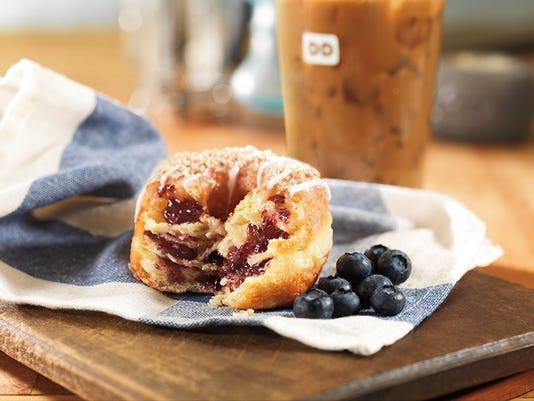 Blueberry Cobbler Croissant