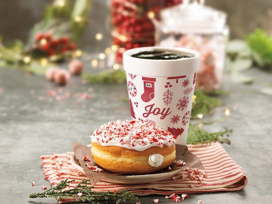 Dunkin' Donuts has released its two new holiday donuts: