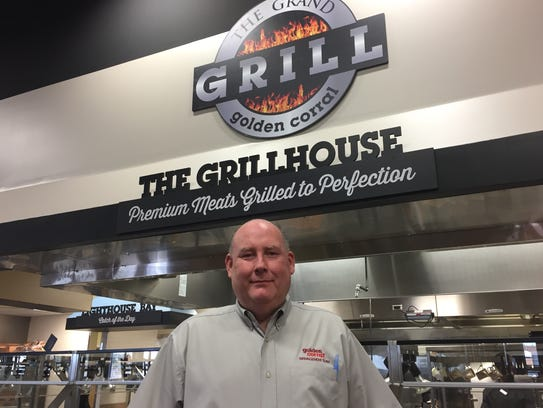 Steve Helton is the general manager of the Golden Corral