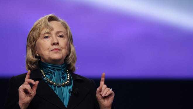 Former secretary of State Hillary Rodham Clinton is weighing a presidential bid in 2016.