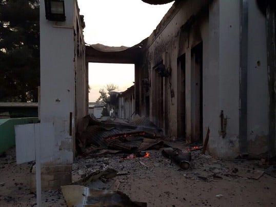 EPA AFGHANISTAN KUNDUZ AIRSTRIKE HOSPITAL WAR ARMED CONFLICT AFG
