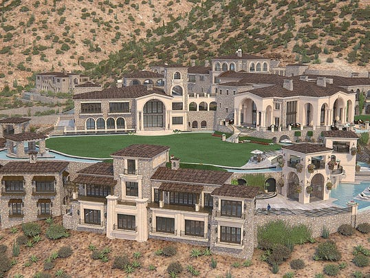 Scottsdale unfinished mansion