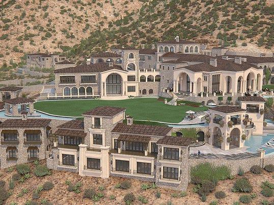 Scottsdale unfinished mansion