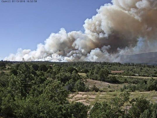 Timberon Fire