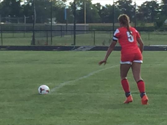 Harding girls soccer Olivia Moodley