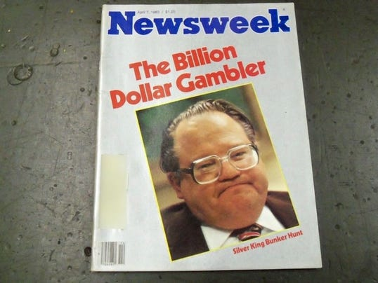 Cover of Newsweek in 1980