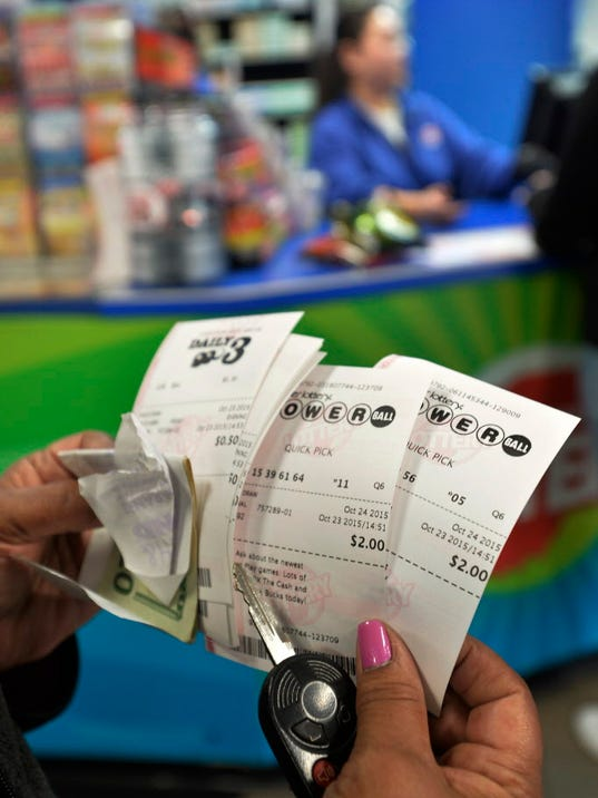 AP LOTTERY SALES ILLINOIS BORDER A USA IN