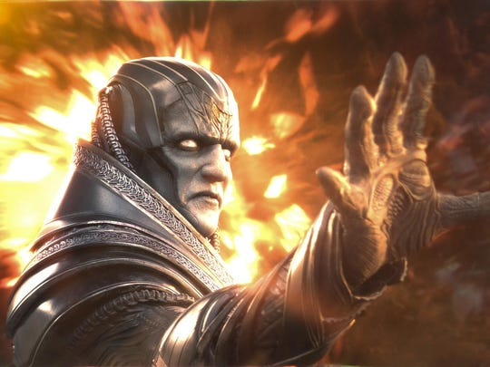 """Apocalypse (Oscar Isaac), the original and most powerful mutant, embarks on a path of global destruction in """"X-Men: Apocalyspe."""""""
