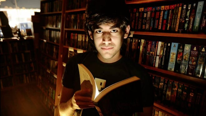 """A photo from the documentary film """"The Internet's Own Boy: The Story of Aaron Swartz."""""""