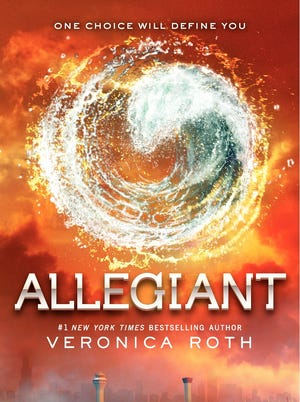 'Allegiant' by Veronica Roth broke publisher HarperCollins' first-day sales records.