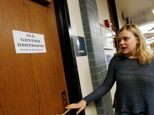 Iowa schools we already have transgender bathrooms for Transgender bathrooms in schools